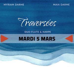 Traversées - Myriam & Maia Darme @ L'Accordeur