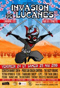 Festival Invasion de lucanes #11 @ Parc de L Épinette