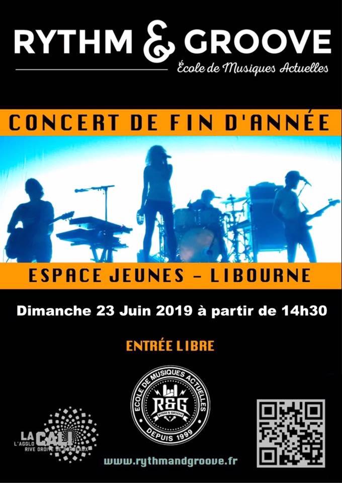 Concert des Adhérents @ R&G - Espace Jeune La Cali