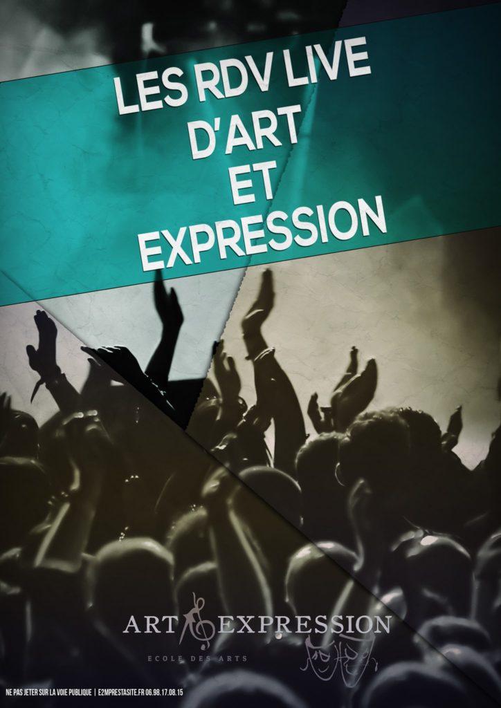 Rdv live @ Art et Expression